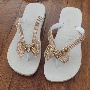 Custom made flip flop